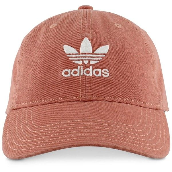 adidas Originals Cotton Relaxed Cap ( 24) ❤ liked on Polyvore featuring  accessories c5f17b72f6