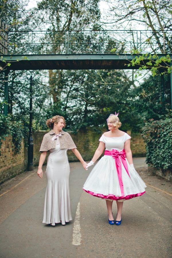 Vintage Tea Color Dresses