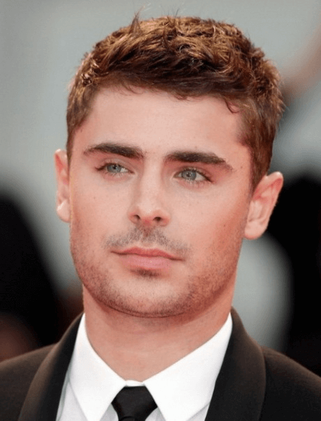 Frisuren Manner Fur Runde Gesichter Zac Efron Hair Styles Short