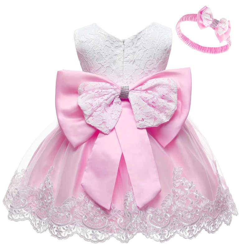 Baby girl pink party dress up to 24 months