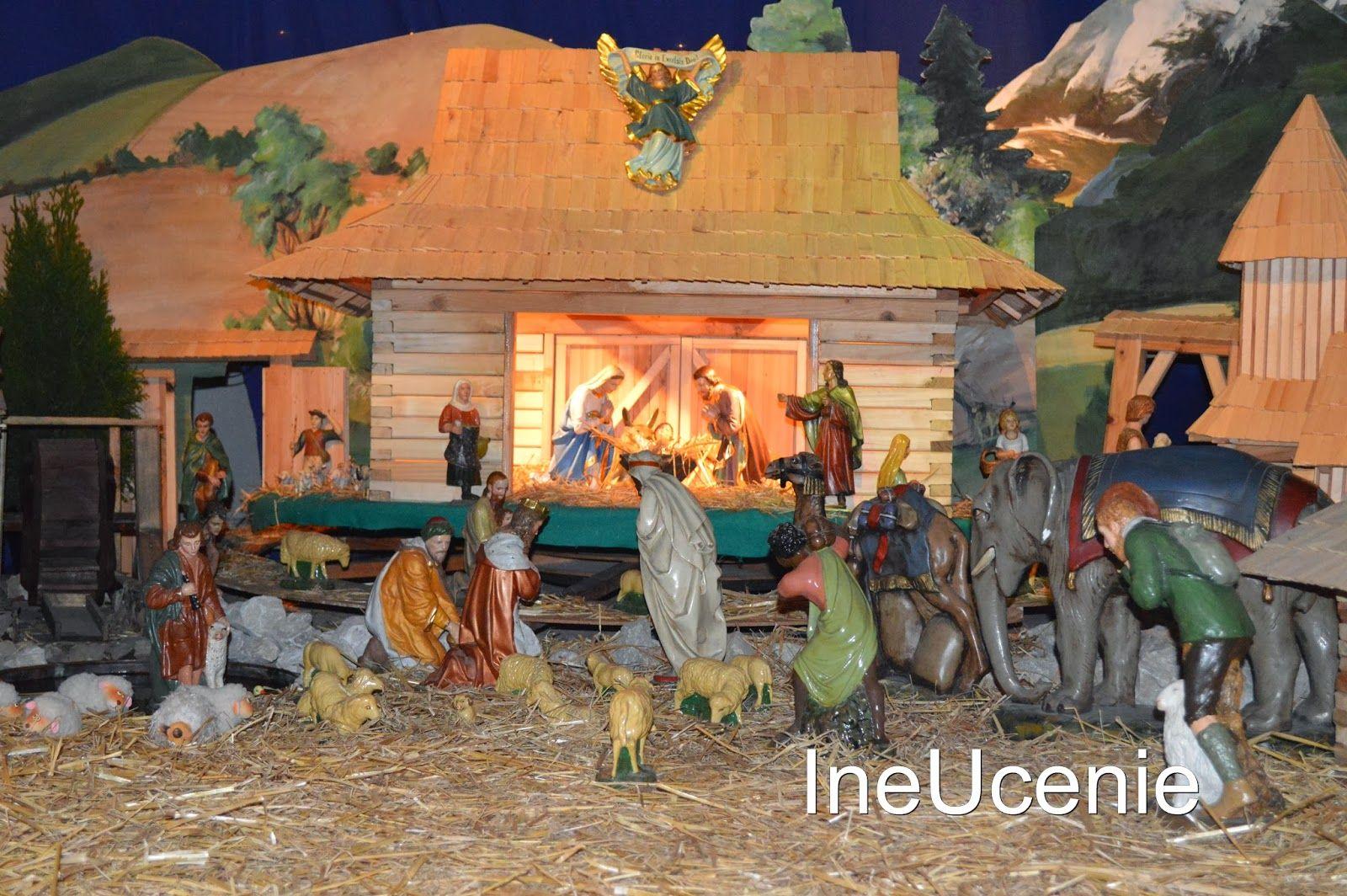Hľadanie Ježiška v jasličkách