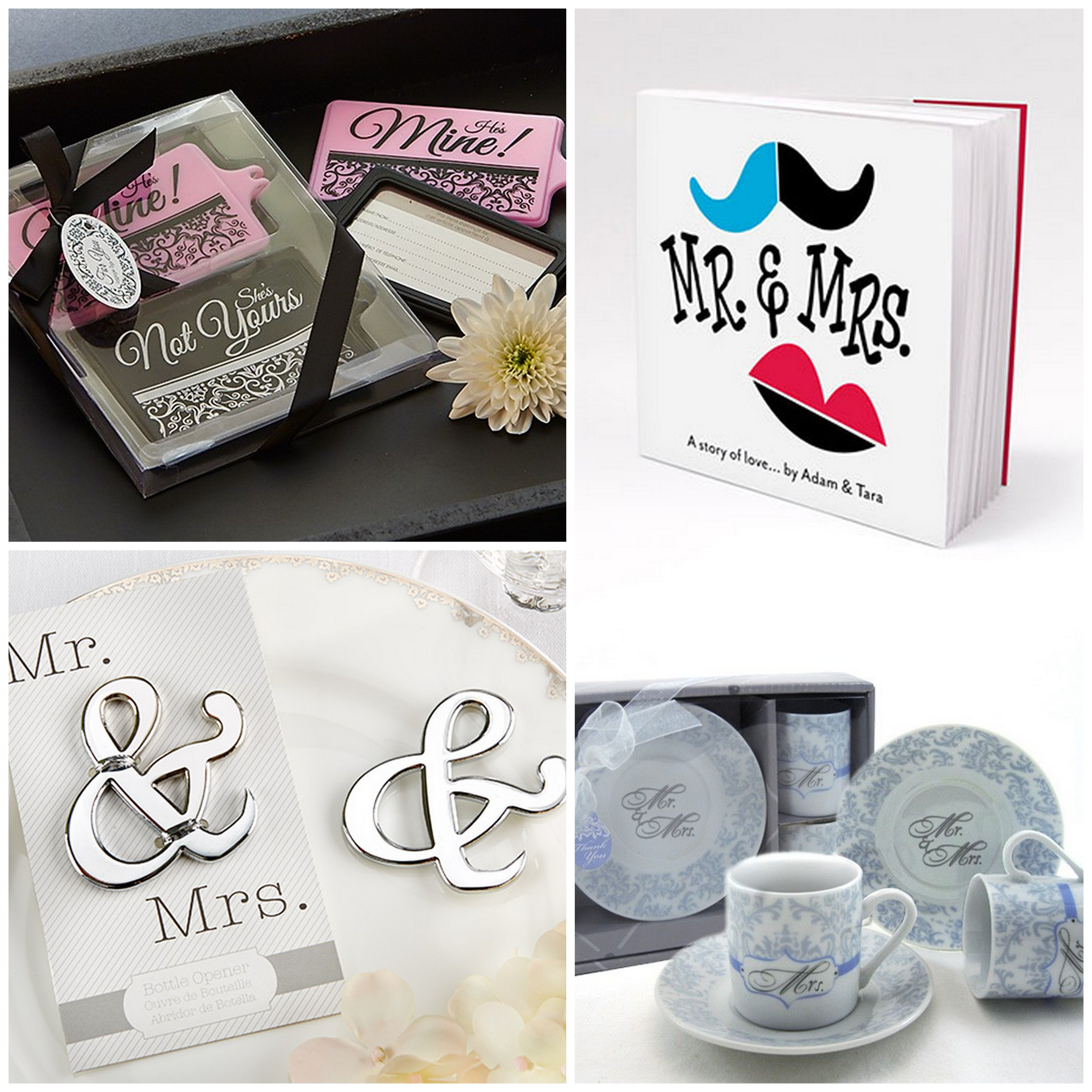 Mr. and Mrs. Wedding Accessories, Favors and Gifts | HotRef Party Gifts