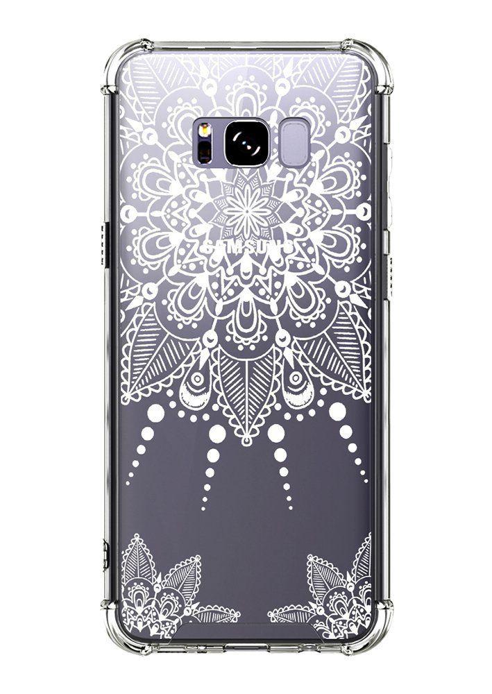 new product 49ed1 918db Amazon.com: Galaxy S8 Plus Case, CASY MALL Hybrid Slim Fit Hard Case ...