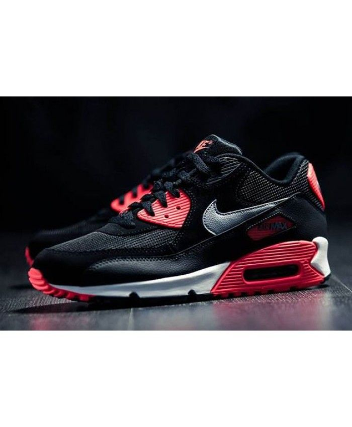 Cheap Nike Air Max 90 Black WE039 332 Trainer Outlet Sale Nike black style,  with