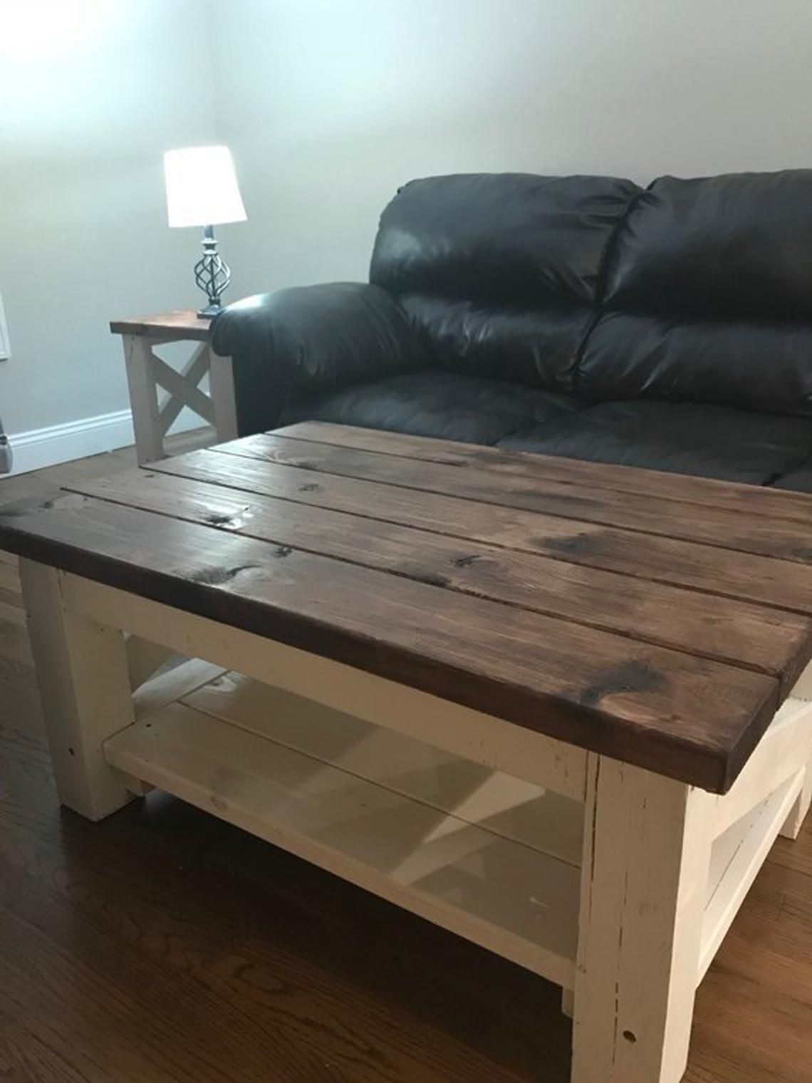 Farmhouse Coffee Table Coffee, end tables, Rustic