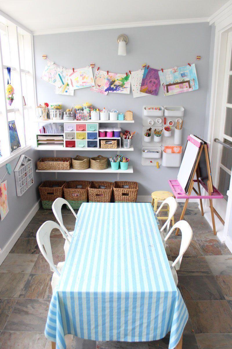 Karuna & Ora's Art Studio on the Sun Porch (With images