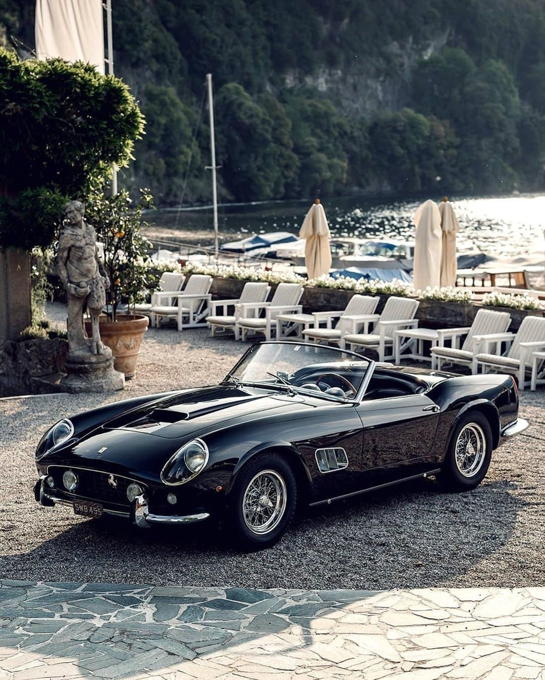 The Elegant Ferrari 250 California Spyder At Villa D Este Www