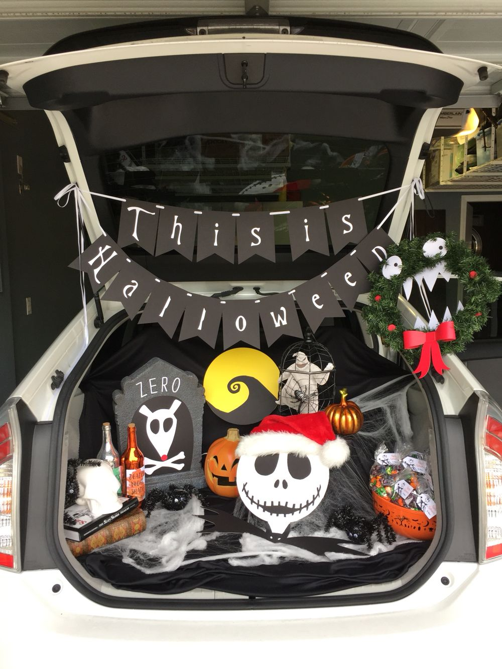 Nightmare Before Christmas Trunk or Treat | This is what I do (in my ...
