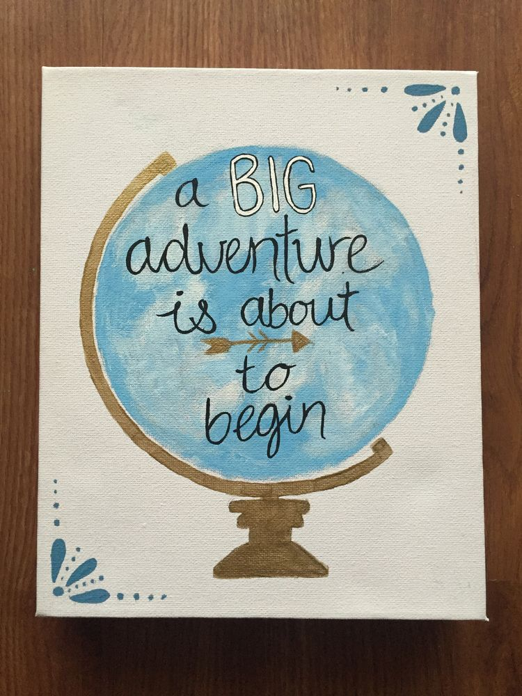 A big adventure tarts with a little magic | Sorority crafts ...