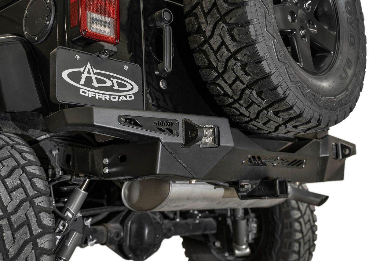 Add Stealth Fighter Rear Bumper For 07 18 Jeep Wrangler Jk Jeep Wrangler Jk Jeep Wrangler Bumpers Jeep Wrangler