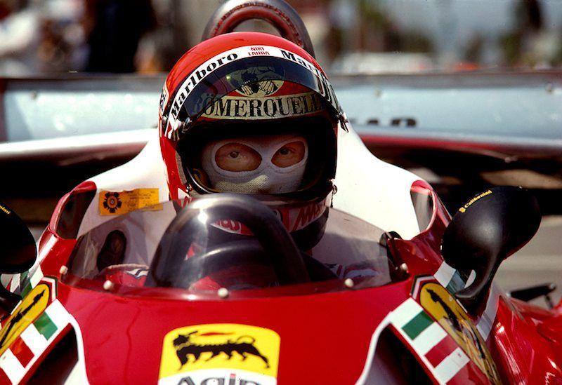 Niki Lauda's Ferrari 312