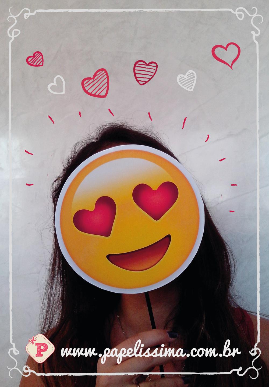 Plaquinhas Emojis