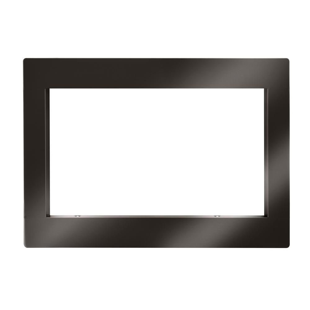 Lg Electronics Trim Kit For Countertop Microwave Oven In Black