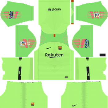 Dream League Soccer Kits Barcelona 2018-19 Kit & Logo