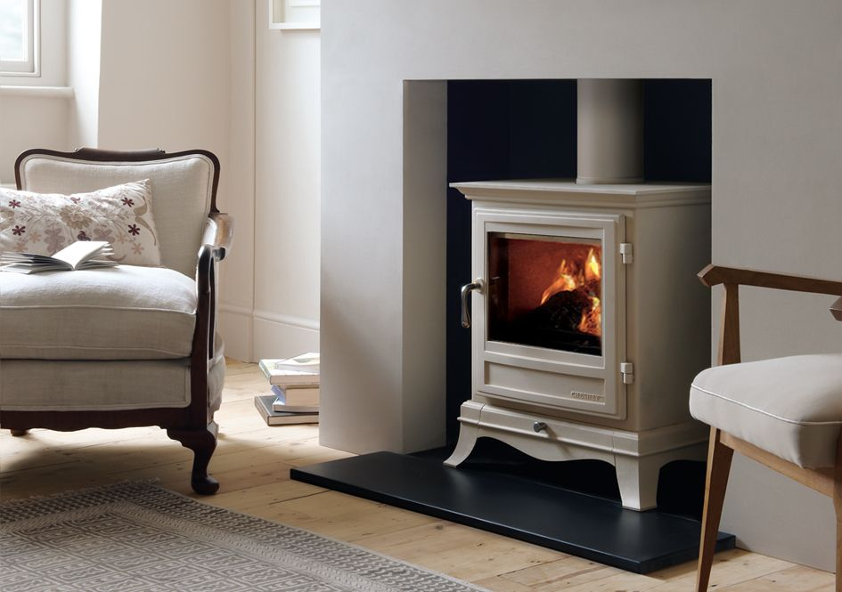 Camini In Mattoni Rossi : A think a wood burning stove is a must in cream ideally