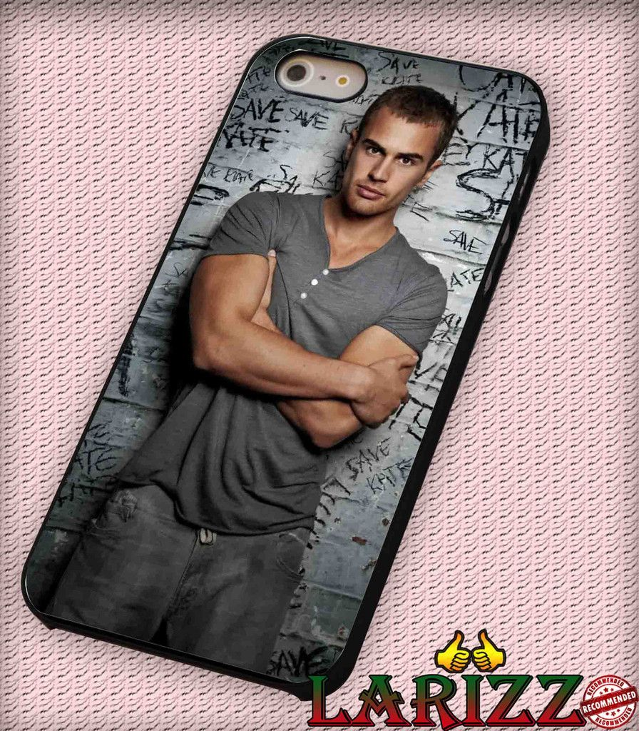 """Theo James Four Divergent for iPhone 4/4s, iPhone 5/5S/5C/6/6 , Samsung S3/S4/S5 Case """"005"""""""