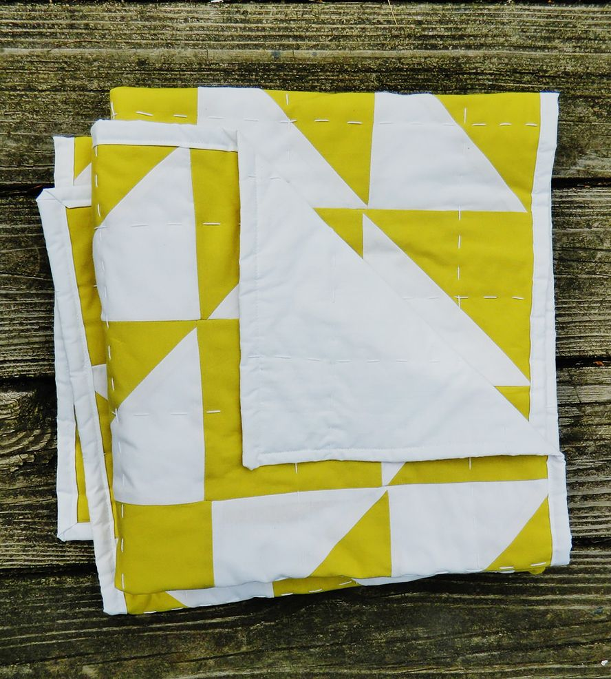Star Patchwork Handmade Baby Quilt