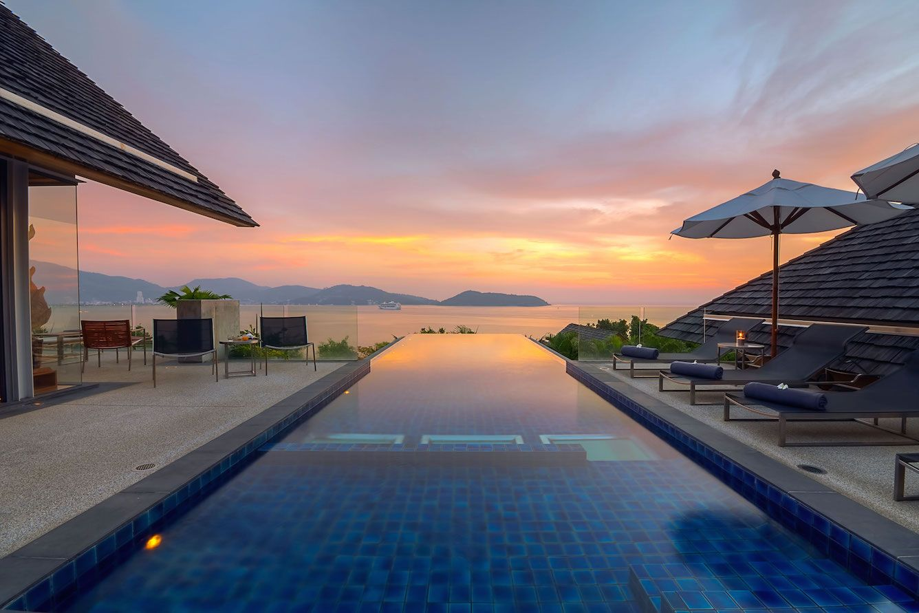 Gorgeous sunset photos taken from different luxury villas at Samsara Estate Phuket, Thailand. http://bit.ly/19AGmmH #Villa #Phuket #SamsaraEstate #Samsara #Properties #Homes #Houses #Villas #Sunset #Luxury #Kamala #KamalaBeach #Patong #PatongBeach #Thailand #TravelAwesome #Travel #Holiday