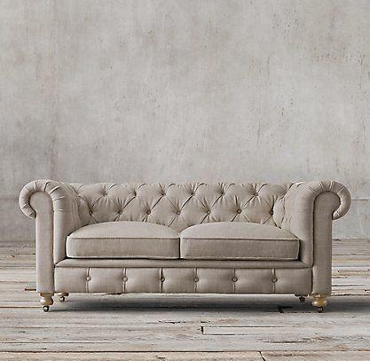 El kensington peque o rh 5 sillas y sofas pinterest - Sofas rinconeras pequenos ...