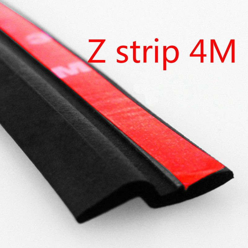 4m Z Type 3m Car Styling Tap Seal Trim Car Rubber Seal Sound Insulation Noise Door Sealing Weatherstrip Edge Tri With Images Door Sealing Noise Insulation Sound Insulation