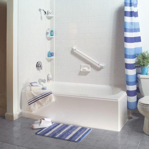 two wall tub