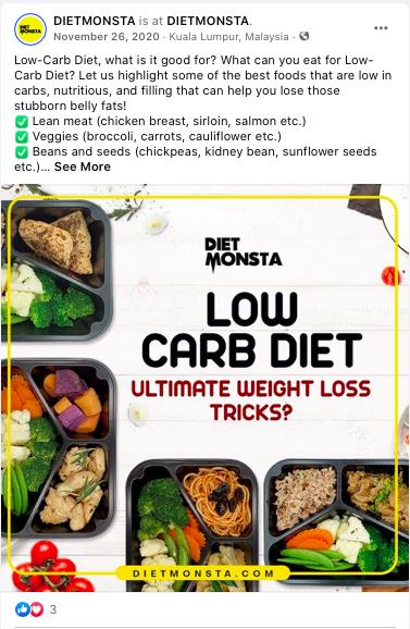 Dietmonsta In 2021 Low Carb Diet Nutritious Best Foods