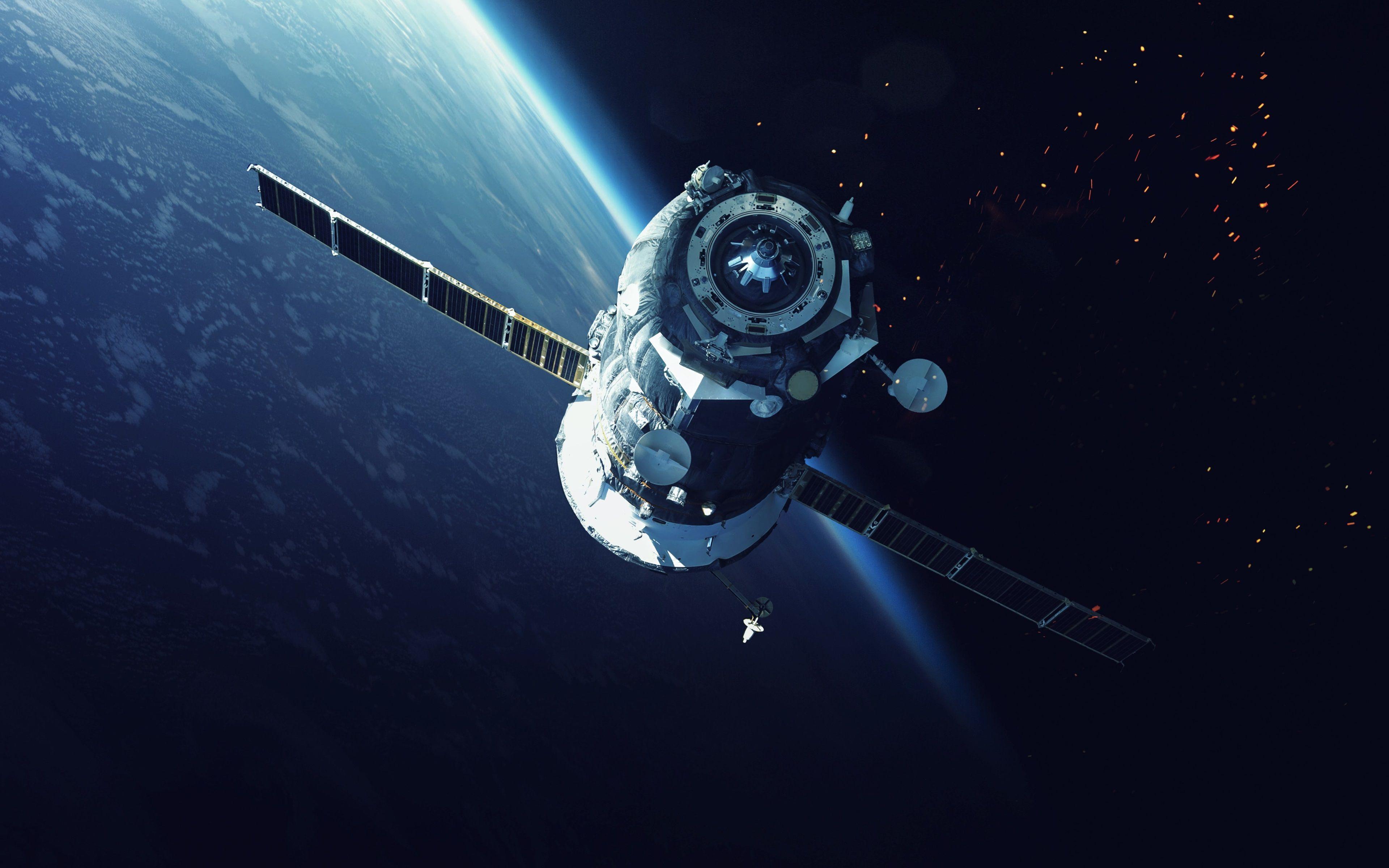 3840x2400 space satellite 4k high definition wallpaper