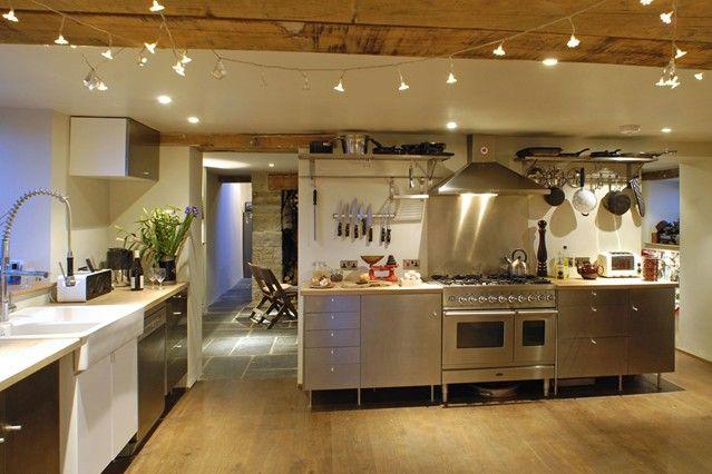 Fairy Light Decorated Kitchen- Kitchen Designs Ideas u0026 Wallpaper (EasyLiving.co.uk) & Fairy Light Decorated Kitchen- Kitchen Designs Ideas u0026 Wallpaper ...