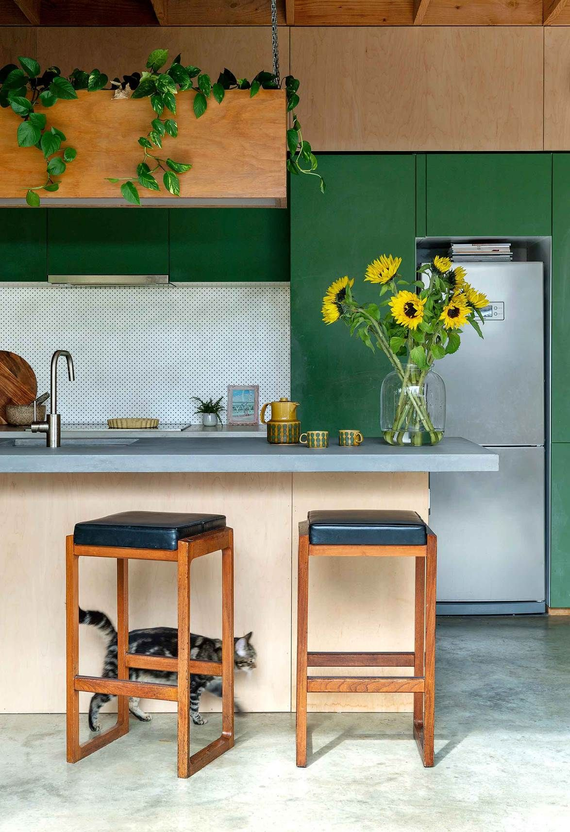 20 kitchen cabinet colour ideas to try in your home ...