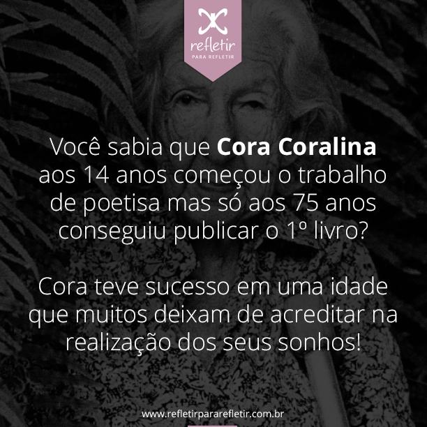 Cora Coralina Poemas Frases Cora Coralina Frase Para Refletir E