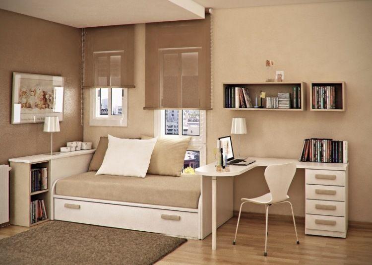 Petite chambre ado en 30 ides fascinantes pour votre enfant