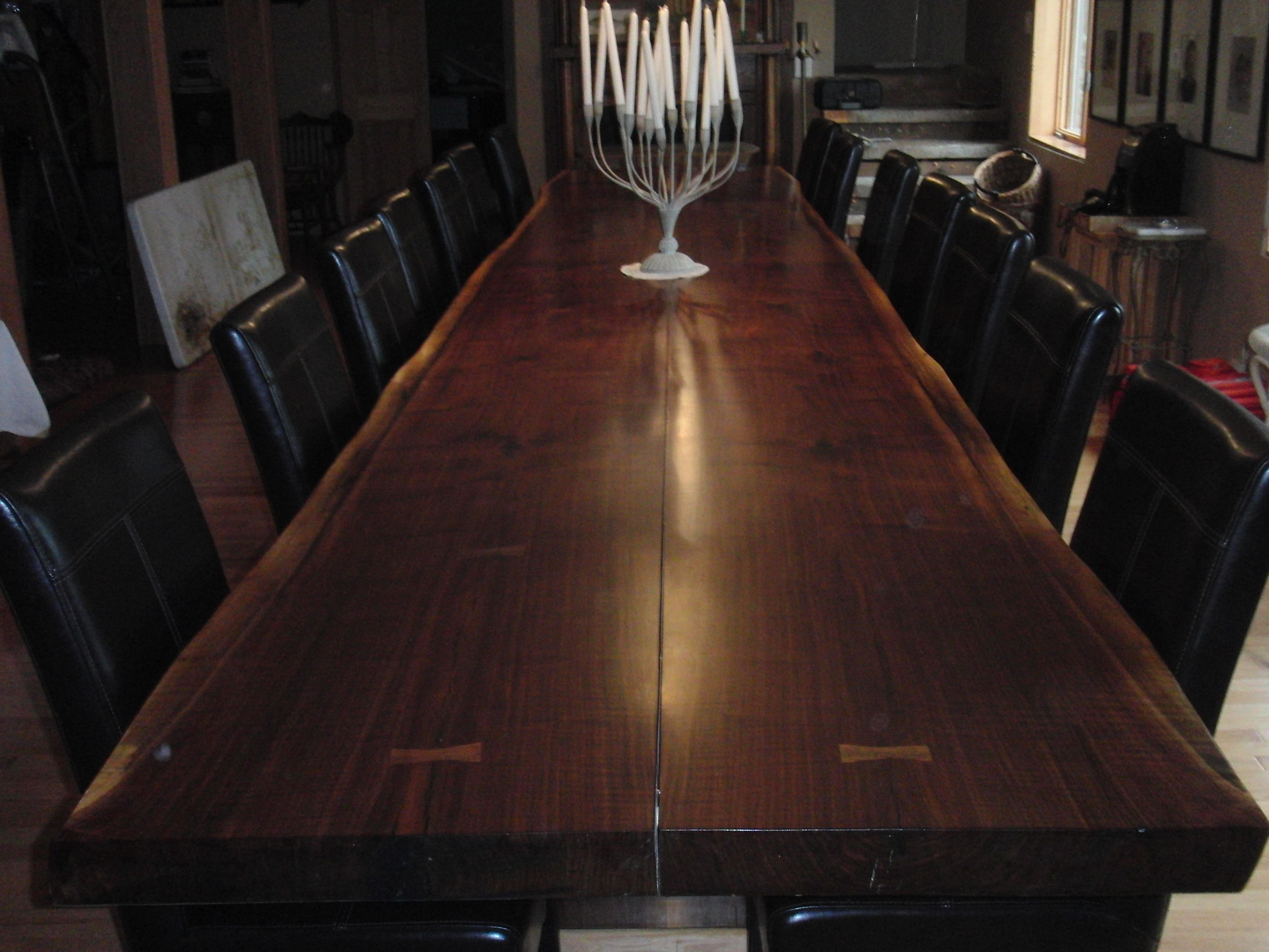 Learn more about how we crate bookmatched flitches for table tops ...