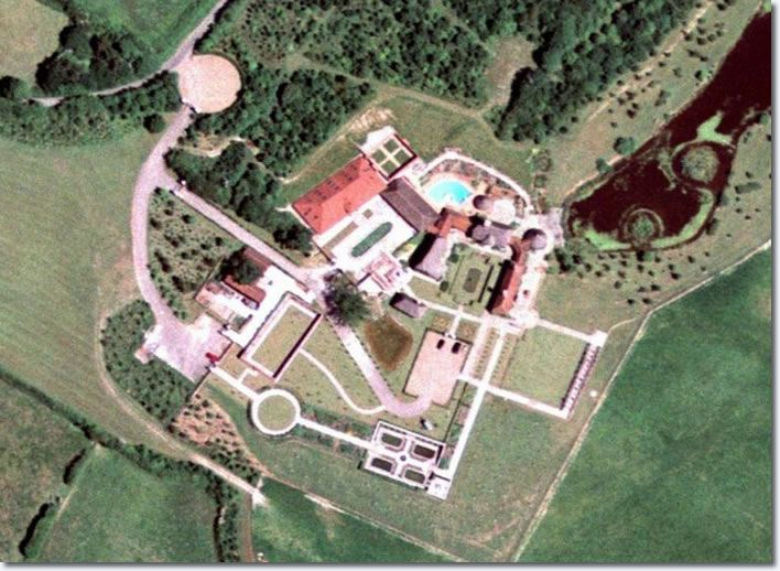 Elvis Presley Home In Hawaii Above A Aerial Photo Lisa