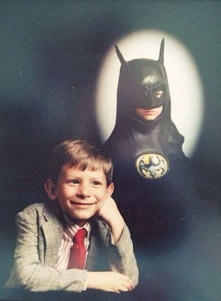 Nobody suspects I'm Batman.