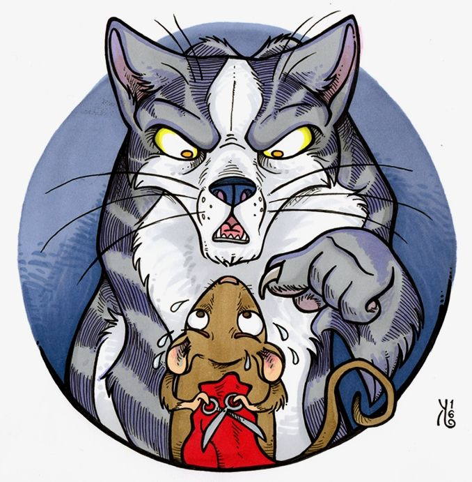 Hiiri kissalla räätälinä on vanha suomalainen kansansatu ahkerasta hiirestä, joka yritti ommella kissalle takkia. Ei siitä takkia tullut, eikä edes kukkaroa. Vaan kuinkas sitten kävikään? Sadun on kuvittanut Jenni Kuhalainen. Ikäsuositus: 4+