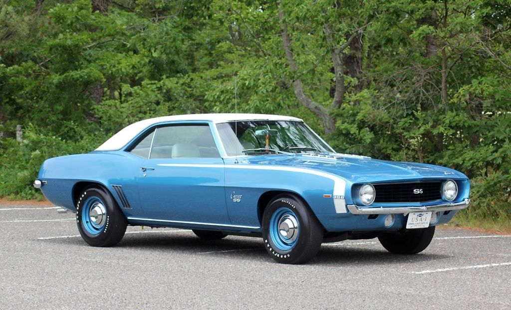 1969 L89 SS 396 Camaro