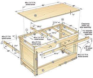 Pleasant Free Woodworking Bench Plans Workbench Plans Free Machost Co Dining Chair Design Ideas Machostcouk