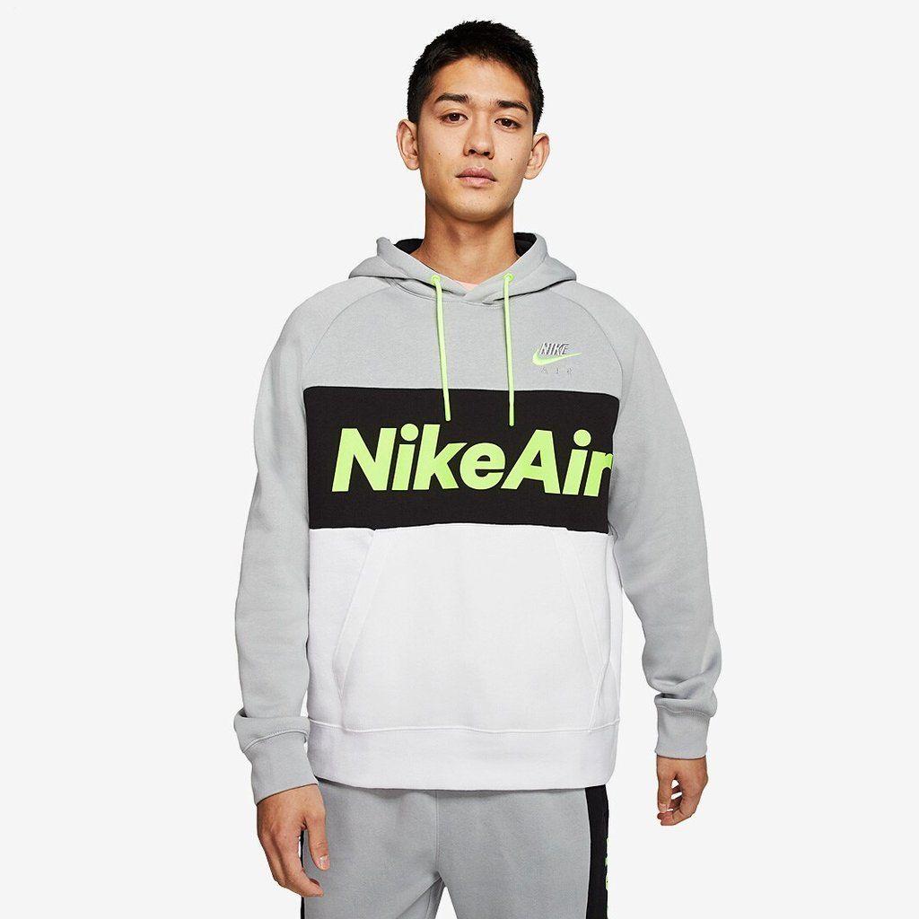 Men S Nike Air Fleece Hoodie Size Xl Cj4824 077 In 2021 Fleece Hoodie Hoodies Hoodies Men [ 1024 x 1024 Pixel ]