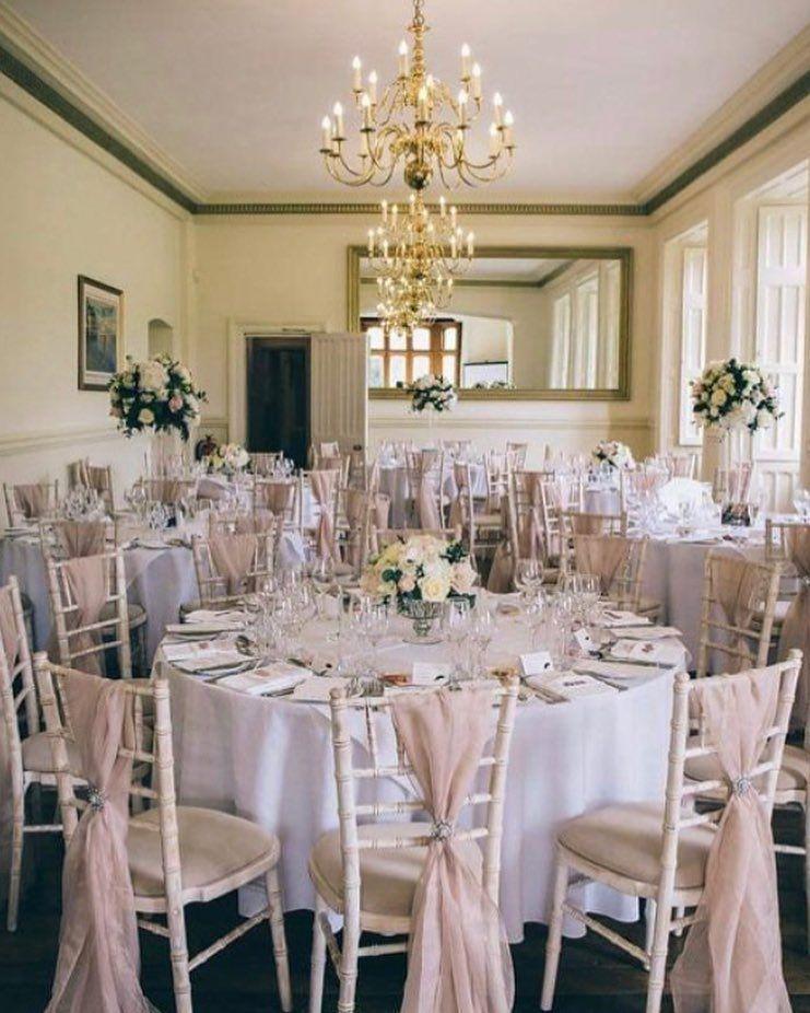 "St Audries Park on Instagram: ""Delightful Dining! . . @maxiphotographydevon  @interiorsandflowers . . #diningroom #diningroomdecor #diningtable #dining #wedding…"""
