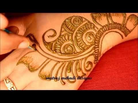 Easy Arabic Mehndi Designs|Latest Simple Arabic Henna Designs For Hands