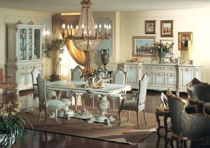 Sala da pranzo stile veneziano stile barocco veneziano room - Sala da pranzo stile barocco ...