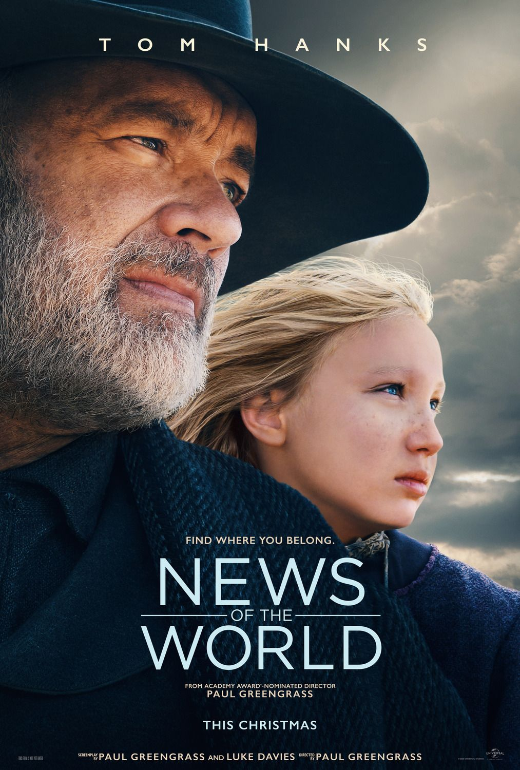 News Of The World Movie Starring Tom Hanks In 2020 Tom Hanks New Trailers Universal Pictures