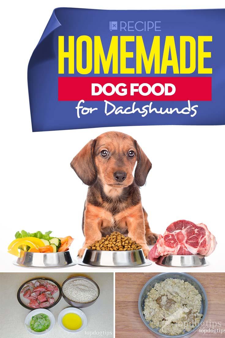 Homemade Dog Food for Dachshunds Recipe Dog food recipes