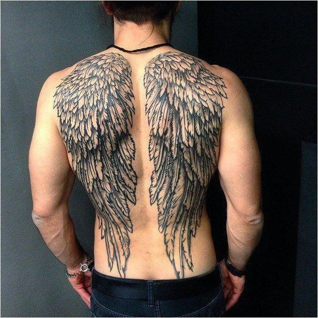 #Tattoo Angel wing tattoos for men are some of the most popular tattoos today. These tattoos have been worn for many years and their history dates back to many years and this can be attributed to�, Click to See More... #Tattoosformen #tattoosformenonback