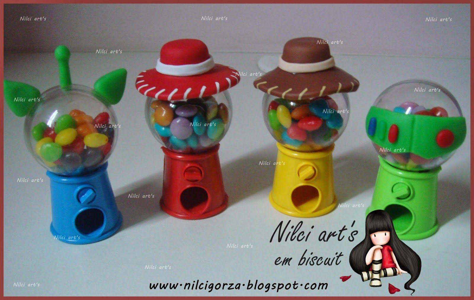 Mini baleiros para lembrança do toy story  9dbb2e3f023