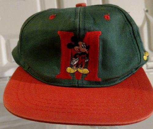 Disney-Mickey-Mouse-Retro-Baseball-Cap-Snapback-Juvenile-M-Hat-Cotton-Fresh-Caps