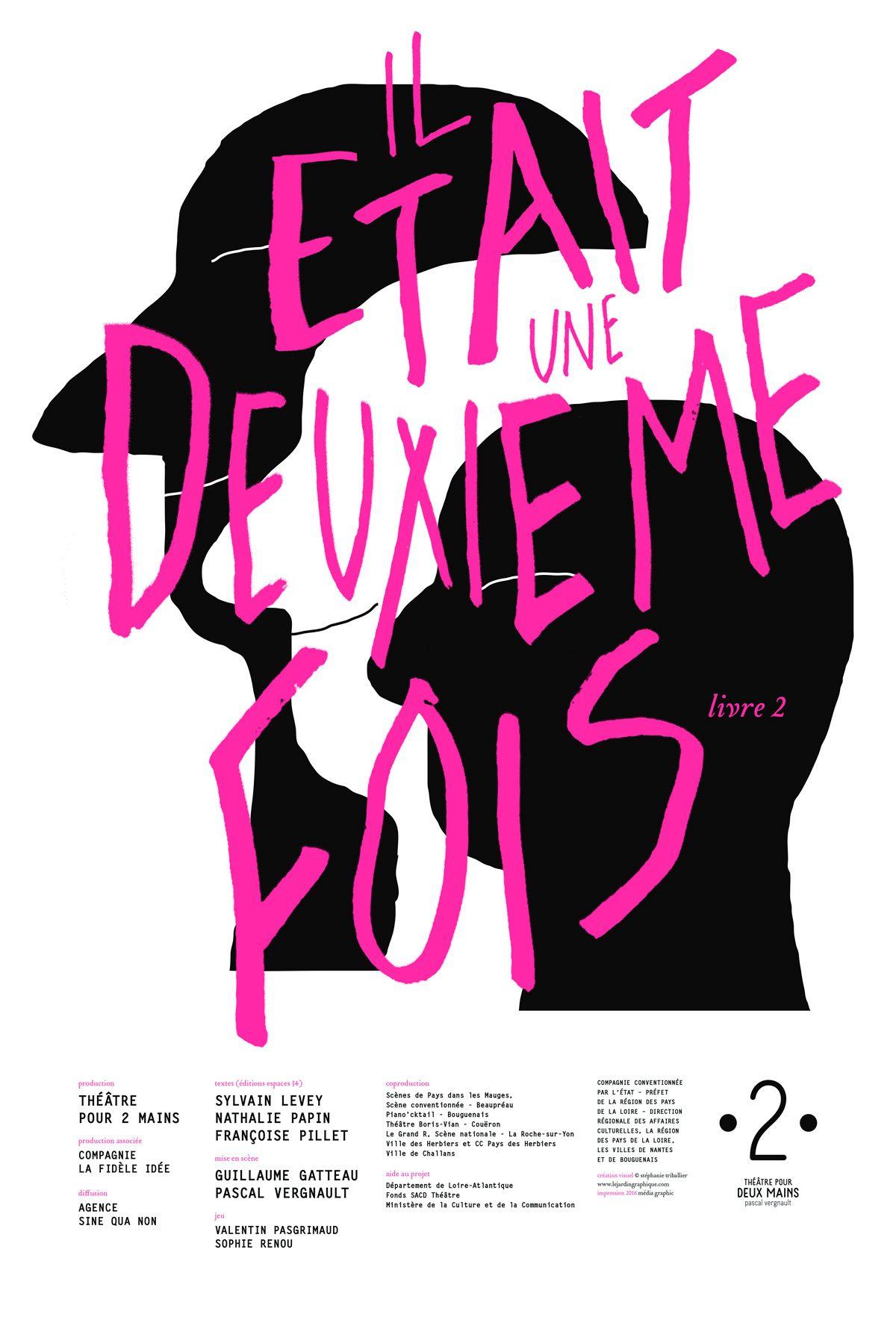 Le Jardin Graphique Compagnie Theatre Pour Deux Mains Pascal Vergnault 2014 2015 2016 2017 Design Grap Design Graphique Graphique Poster Affiche