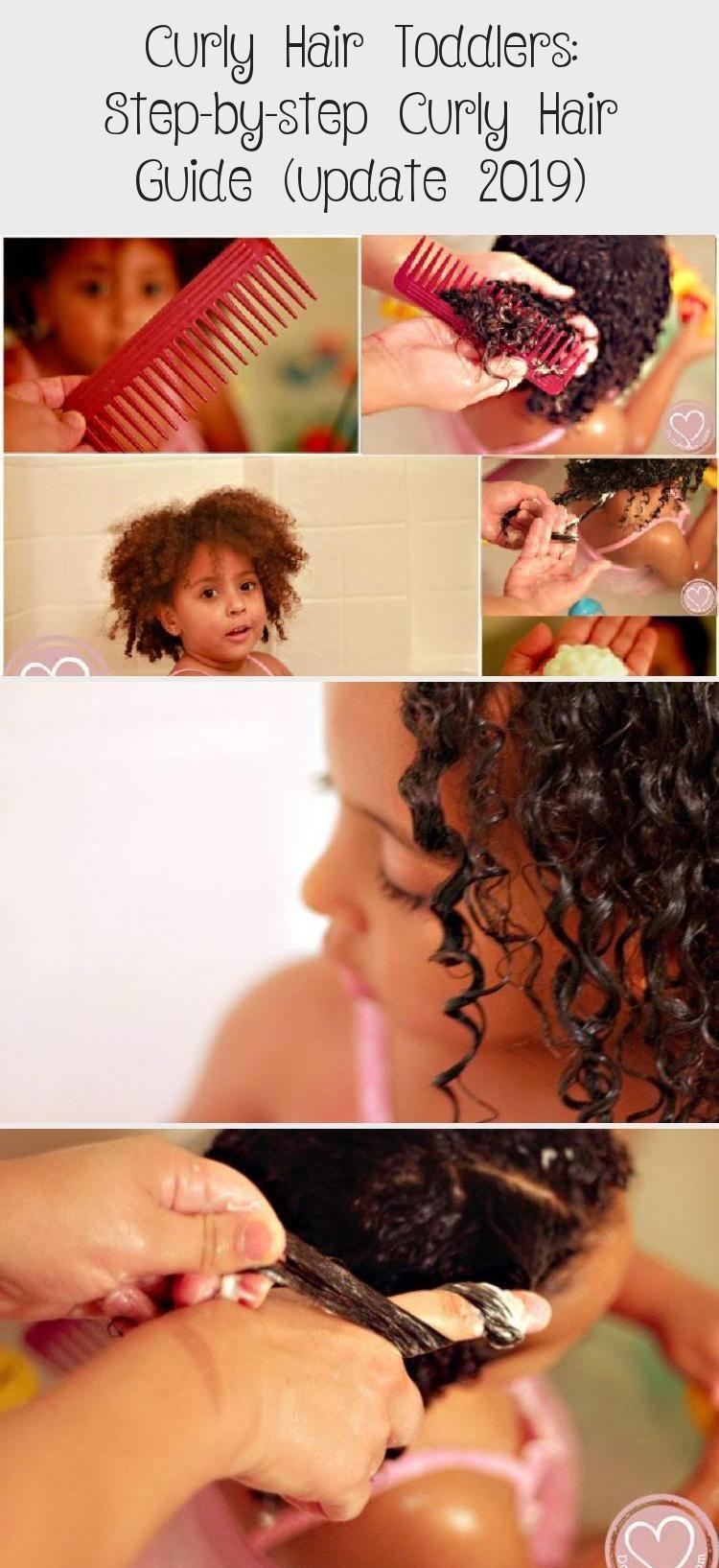Lockiges Haar Kleinkinder: Schritt für Schritt Leitfaden für lockiges Haar (Update 2019) #curly #guide #h …
