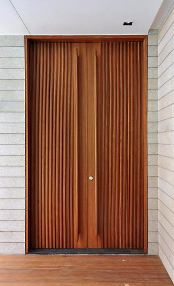 Door Detail By He Hancho With Images Wooden Front Doors Main Door Design Modern Front Door