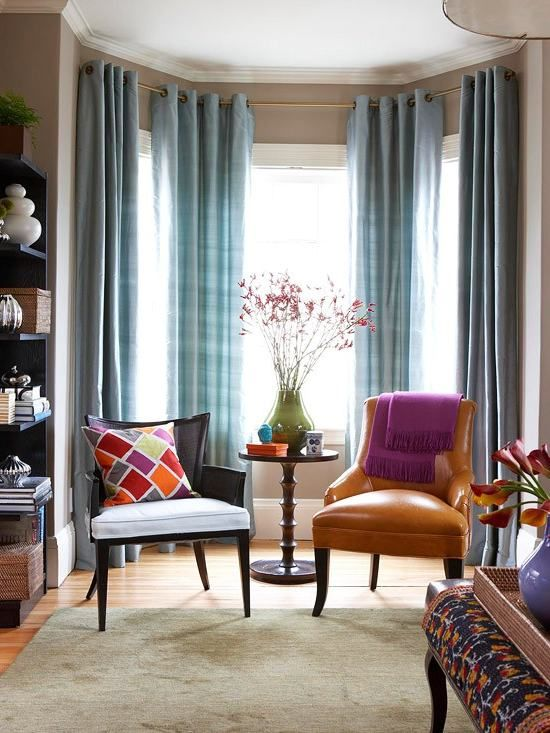 Love The Curtains And The Colors Living Room Windows Curtains Living Room Light Blue Curtains